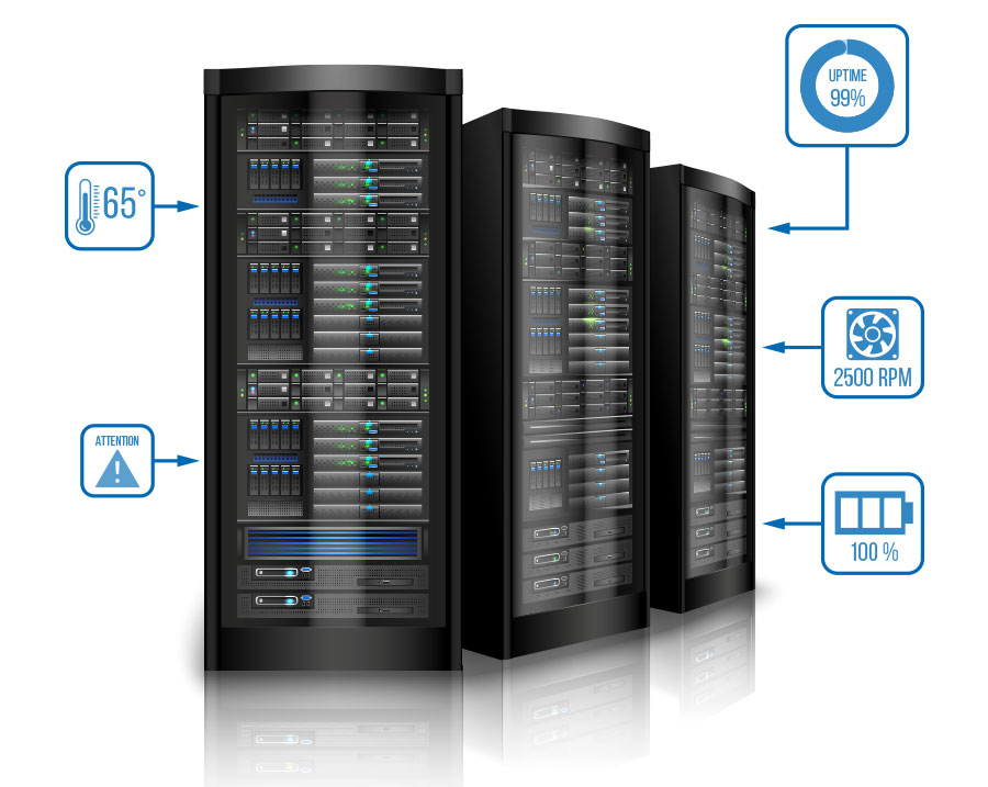 With VBASE you always keep an eye on the data center and react quickly to problems.