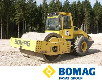 Bomag compactor